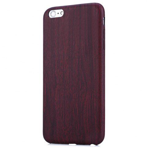 Fancy ASLING Wood Style Protective Back Case for iPhone 6 Plus / 6S Plus Anti-scratch TPU Material Ultra-thin