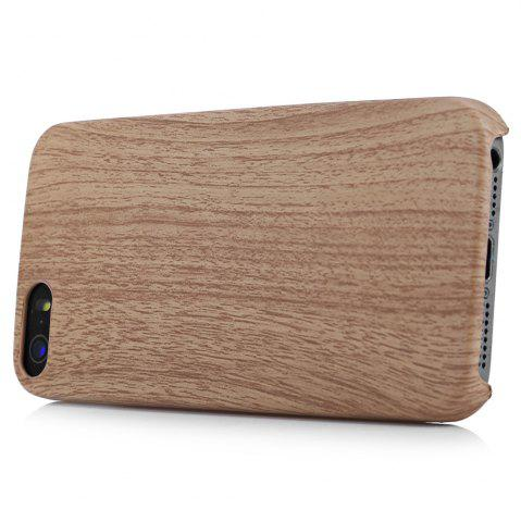 Hot ASLING Wood Style Protective Back Case for iPhone 5 / 5S / SE Anti-scratch TPU Material Ultra-thin -   Mobile