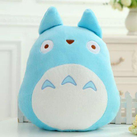 Trendy Hot Sale My Neighbor Totoro Shape Cartoon Cushion Blue Pillow