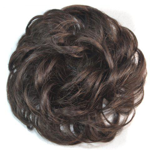 Outfits Attractive Fluffy Curly Vogue Heat Resistant Fiber Hair Bun 04#
