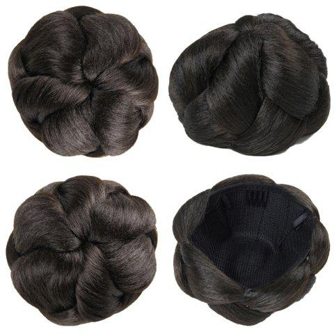 Unique Charming Clip In Heat Resistant Synthetic Elegant Short Hair Bun