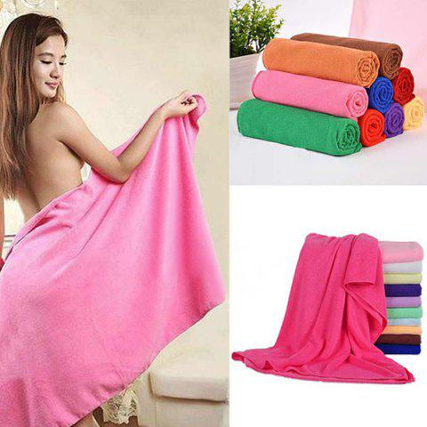 Buy Comfortable Solid Color Soft Absorbent Cleansing Cloths Bath Towel