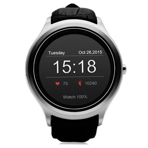 Online NO.1 D5 Android 4.4 Bluetooth Smart Watch with Heart Rate Function