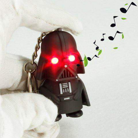 Key Chain with Red LED Light   Sound