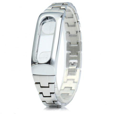 Online Stainless Steel Strap Anti-lost Design Wristband