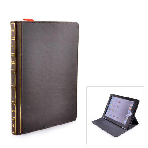 BROWN Protective PU Leather Case for iPad Air 2