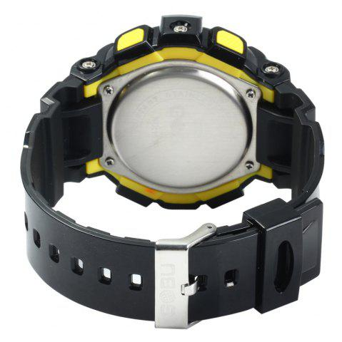 Cheap Gobu 1520 Multifunctional Male LED Sports Watch Rubber Band -   Mobile