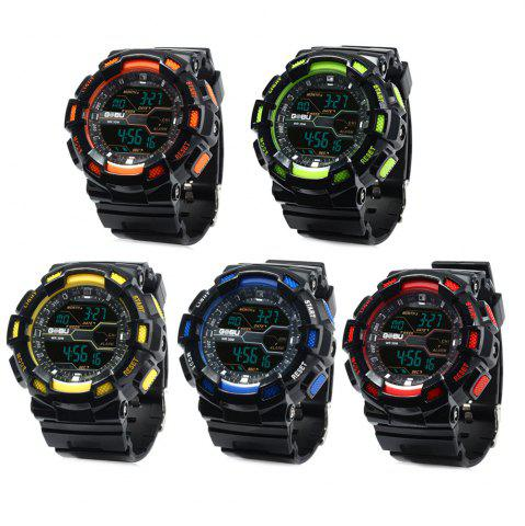 Online Gobu 1520 Multifunctional Male LED Sports Watch Rubber Band -   Mobile