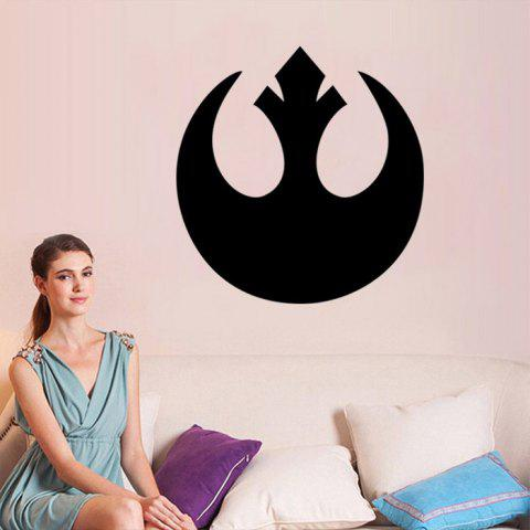 Fancy w-1 Rebel Alliance Style Removable Wall Sticker Water Resistant Home Art Decals