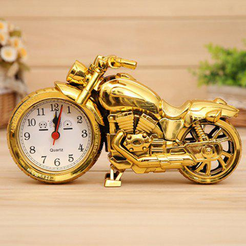 Latest Cool Motorcycle Style Electronic Alarm Clock Creative Desk Ornaments