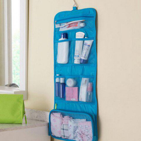 Discount Portable Hanging Organizer Bag Make Up Wash Bags Foldable Travel Handbag