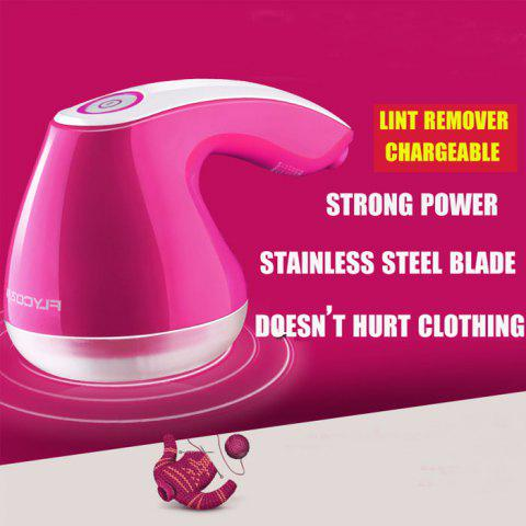 Best FLYCO FR5006 Lint Remover Stainless Steel Wire Mesh Clothes Fuzz Shaver ROSE RED