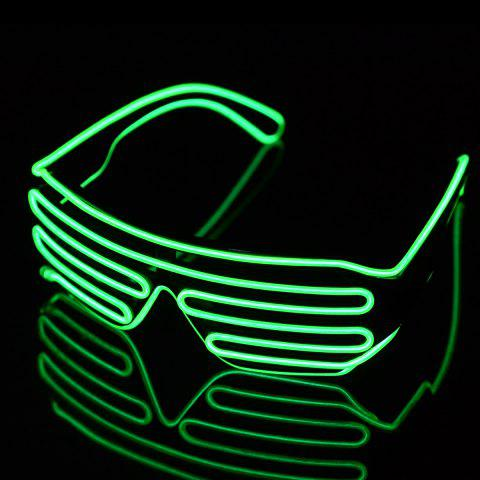 Buy 3-Mode Sound Control Cool LED Glasses with Controller Christmas Party Concert Ornaments