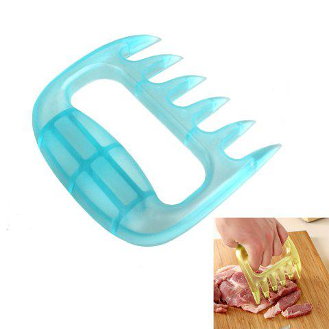 Trendy Portable Claw Style Steak Pork Meat Auxiliary Device Handheld Cleaver - RANDOM COLOR  Mobile