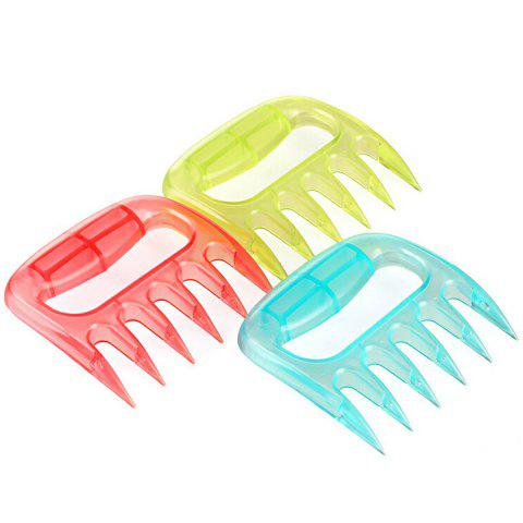 Shop Portable Claw Style Steak Pork Meat Auxiliary Device Handheld Cleaver - RANDOM COLOR  Mobile