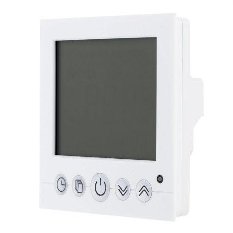 Trendy TS-C16 LCD Display Heating Thermostat Touchscreen Durable Temperature Controller - WHITE  Mobile