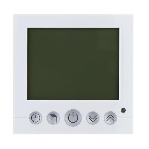 Fancy TS-C16 LCD Display Heating Thermostat Touchscreen Durable Temperature Controller - WHITE  Mobile
