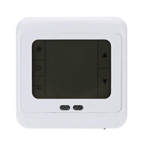Hot TS-C07 LCD Display Thermostat Heating Control Weekly Programmable Device - GREEN  Mobile