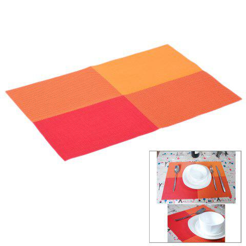 Trendy Multi-functional PVC Heat Insulation Table Mat Anti-slip Food Insulated Pad - COLORMIX  Mobile