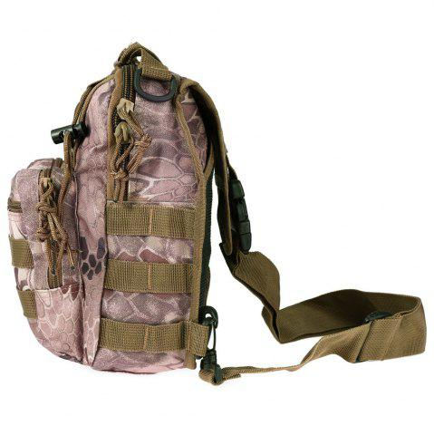 Store Outdoor Shoulder Military Backpack Camping Travel Hiking Trekking Bag - WASTELAND PYTHON PATTERN  Mobile