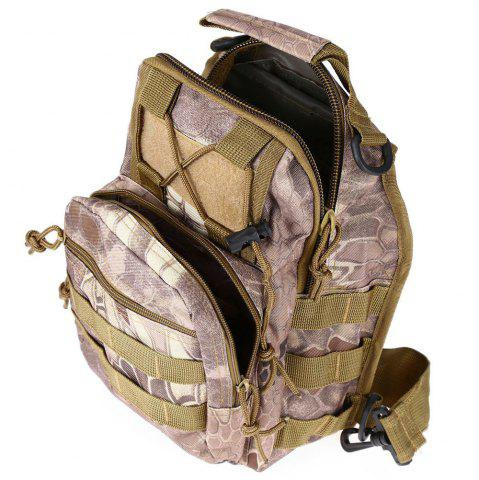 Outfit Outdoor Shoulder Military Backpack Camping Travel Hiking Trekking Bag - WASTELAND PYTHON PATTERN  Mobile