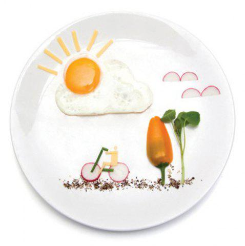 Store Creative Sun Cloud Silicone Fried Egg Mold Funny Kitchen Gadgets - RED  Mobile