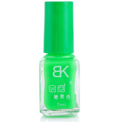 Discount 7ml bNoctilucent Fluorescent Lacquer Neon Glow In Dark Nail Polish - 04 GREEN Mobile