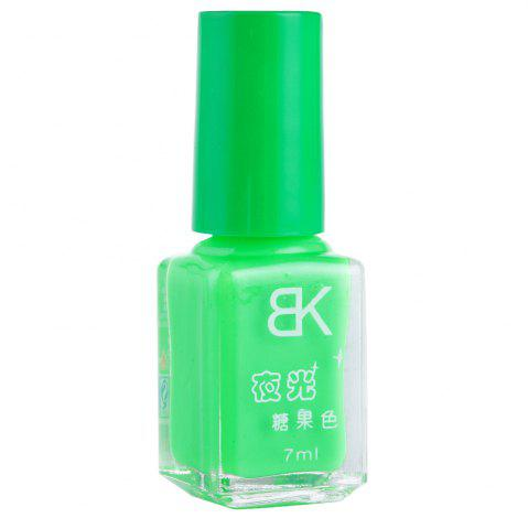 Affordable 7ml bNoctilucent Fluorescent Lacquer Neon Glow In Dark Nail Polish - 04 GREEN Mobile
