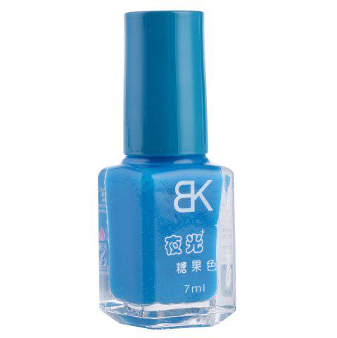 Cheap 7ml bNoctilucent Fluorescent Lacquer Neon Glow In Dark Nail Polish - 08 DEEP BLUE Mobile