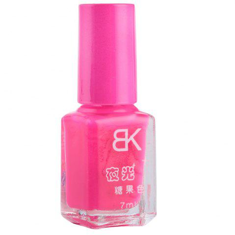 Discount 7ml bNoctilucent Fluorescent Lacquer Neon Glow In Dark Nail Polish - 11 FLUORESCENT PINK Mobile