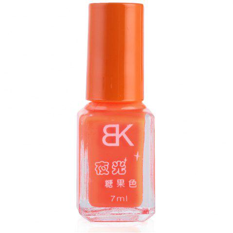 New 7ml bNoctilucent Fluorescent Lacquer Neon Glow In Dark Nail Polish - 17 ORANGE Mobile