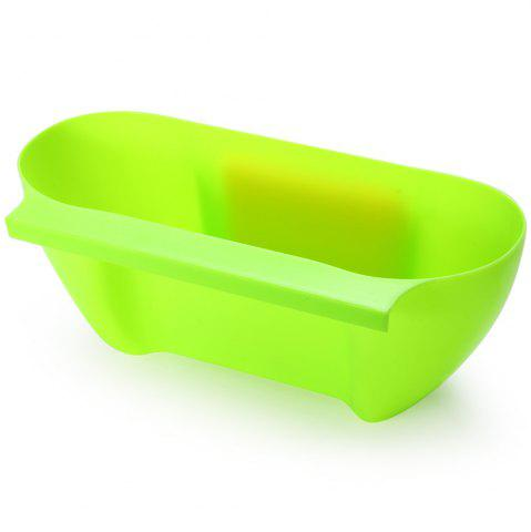 Latest Practical Kitchen Trash Can Waste Container Hanging Storage Box Fruit Vegetable Organizer Pot - GREEN  Mobile