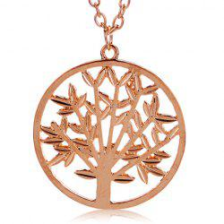 Vintage Divergent the Tree of Life Pendant Necklace -