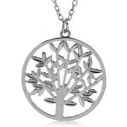 Vintage Divergent the Tree of Life Pendant Necklace