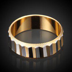 Simple Style Rectangle Ring For Men -