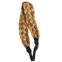 Women's Charming Braided Hair Heat Resistant Synthetic Extensions - COLORMIX
