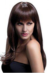 Trendy 70CM Long Layered Full Bang Synthetic Fluffy Natural Wavy Cosplay Wig For Women -
