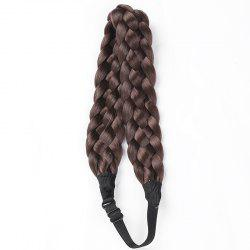 Charming High Temperature Fiber Long Braided Hair Extensions For Women - #08