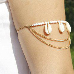 Graceful Shell Pendant Beads Arm Chain For Women -