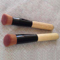 Practical Angled Facial Mask Brush Nylon Flat Foundation Brush