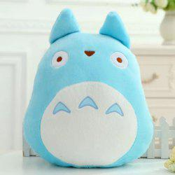 Hot Sale My Neighbor Totoro Shape Cartoon Cushion Blue Pillow -