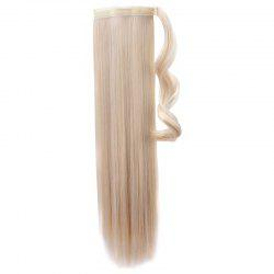 Women's Attractive High Temperature Fiber Long Straight Ponytail