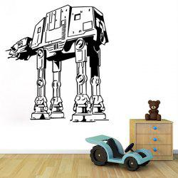w-29 AT-AT Walker Style Removable Wall Sticker Water Resistant Home Art Decals