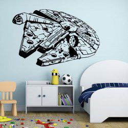 w-25 Millennium Falcon Style Removable Wall Sticker Water Resistant Home Art Decals