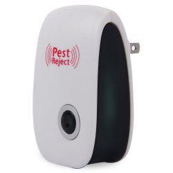Multi-purpose Electronic Pest Repeller Ultrasonic Mosquito Rejector for Home Office - WHITE