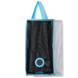 Practical Garbage Bags Extraction Hanging Organizer Bags - BLACK
