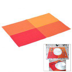 Multi-functional PVC Heat Insulation Table Mat Anti-slip Food Insulated Pad -