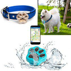 RF-V30 Smart WiFi Pet GPS Tracker IP66 Waterproof Collar Locator Safety Alarm for Dog Cat
