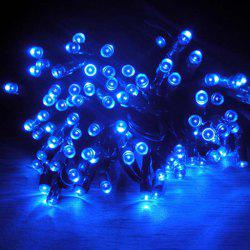 Solar Powered 17M 100 LED String Light Low Voltage Water Resistance for Christmas Holiday Wedding Party - BLUE