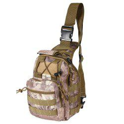 Outdoor Shoulder Military Backpack Camping Travel Hiking Trekking Bag - WASTELAND PYTHON PATTERN